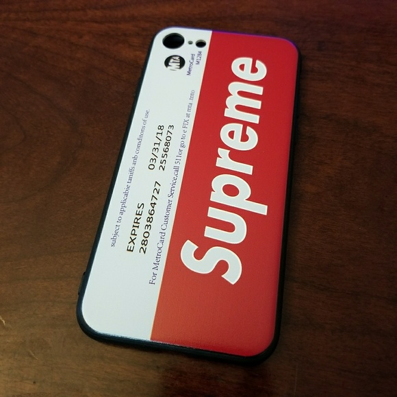 new style c0357 b953a Supreme iPhone 7 case NWT